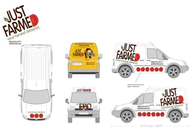 JF truck illustrations