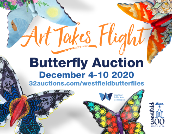 Butterfly Auction Ad
